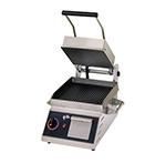 Star Manufacturing CG10IB 1201 Panini Grill w/ Grooved Plates & Electronic Control, 1800-watts, 120/1 V