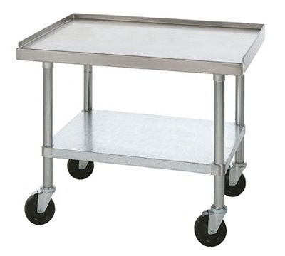 Star ESSM48S Equipment Stand, 48 x 24 x24-in, w/ Bottom Shelf, Stainless