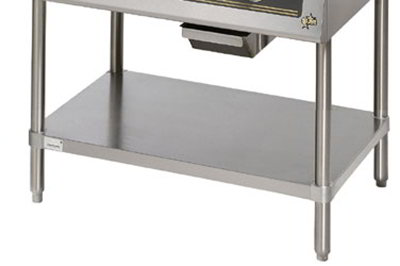 Star Manufacturing ESUM36SFC Floor Model Stand, Pre-Cut, 35 x 24.25 x 22-in, Stainless