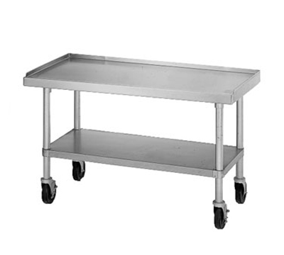 Star Manufacturing ESUM36S Floor Model Stand, 36 x 30 x 24-in, w/ Bottom Shelf, Stainless