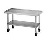 Star Manufacturing ESUM48S Equipment Stand, 48 x 30 x 24-in, w/ Bottom Shelf, Stainless