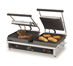 Star Manufacturing GX20IGS Two-Sided Grill, 20-in Grooved/Smooth Iron, 208/240 V