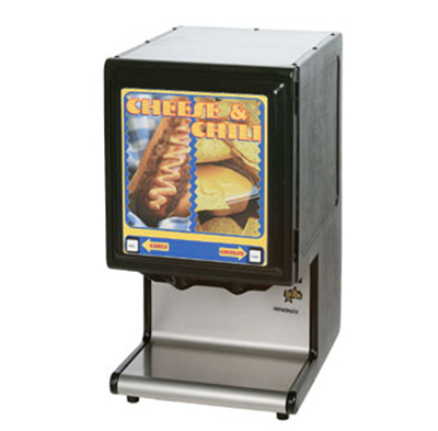 Star Manufacturing HPDE2HP Double Hot Food Dispenser, Portion Control Pump, High Performance