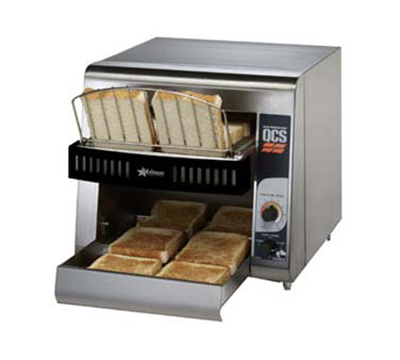 Star Manufacturing QCS1-350 Conveyor Toaster, 2-Slice x 1.5-in Opening, 350 Slices/Hr, 120v