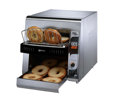 Star Manufacturing QCS21200B240 Conveyor Toaster, 2-Slice x 1.5-in Opening, 1200 Slices/Hr, 240v