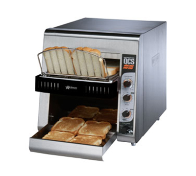 Star Manufacturing QCS2500 Conveyor Toaster, Variable Speed, 350 Slices/Hr, 120v