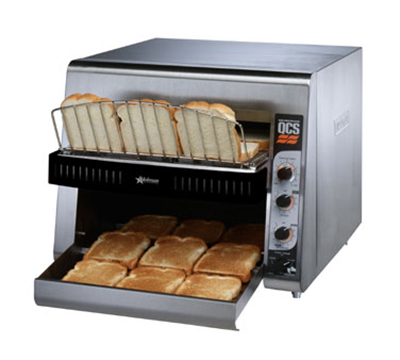 Star Manufacturing QCS3-1300 208 Holman QCS Conveyor Toaster, High Volume, 1300 Slices per Hour, 208v