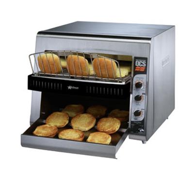 Star Manufacturing QCS3-1600B Holman QCS Bagel Conveyor Toaster, 1600 Halves per Hour, 208v