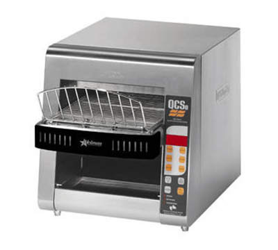 Star Manufacturing QCSE2-800 Conveyor Toaster, Electronic Controls, 800 Slices/Hr, 240v
