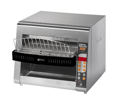 Star Manufacturing QCSE3-1000 Conveyor Toaster, Electronic Controls, 1000 Slices/Hr, 240v
