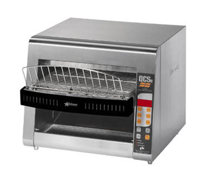 Star Manufacturing QCSE3-1300 Conveyor Toaster, Electronic Controls, 1300 Slices/Hr, 240v