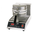 Star Manufacturing SWB8RBLE240 Belgian Waffle Baker, Single, 8 in Round, 1 in Thick Grid, 208/240 V