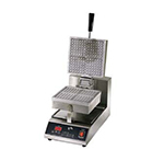 Star Manufacturing SWB8SQE120 Standard Waffle Baker, Single, 8 in Square Grids, 120 V