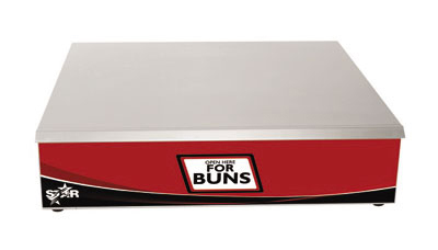 Star Manufacturing XBW30-30 Dry Bun Warmer w/ 72-Bun Capacity, For X30 Models, 35-Watts