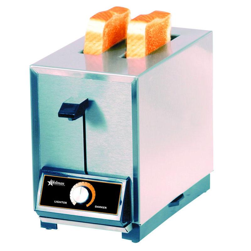 Star T2208240 Pop-Up Toaster, 2 Slice Bread or Bagel, Solid State Timer, 208/240 V