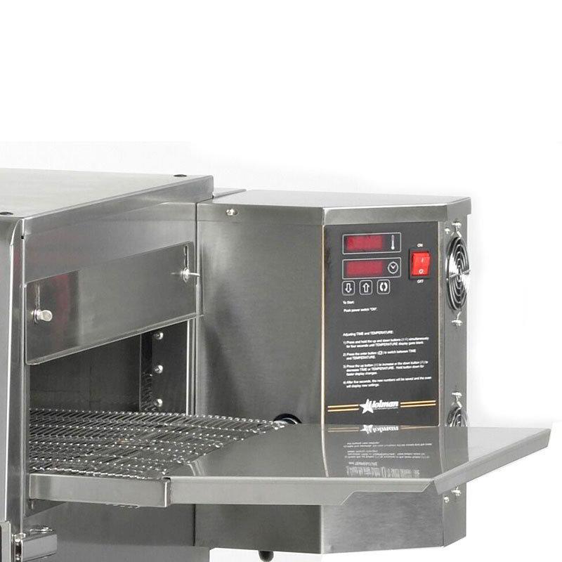 Star UMEXIT8D Conveyor Oven Exit Shelf, 8 in Drop, For Holman UM1850, UM1850T, UM1854 Models