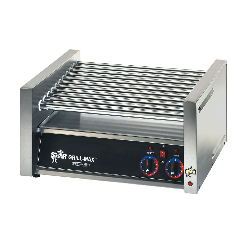Star X30 30 Hot Dog Roller Grill - Slanted Top, 120v