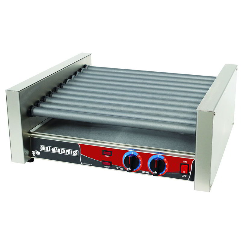 Star X30SG 30 Hot Dog Roller Grill - Slanted Top, 120v