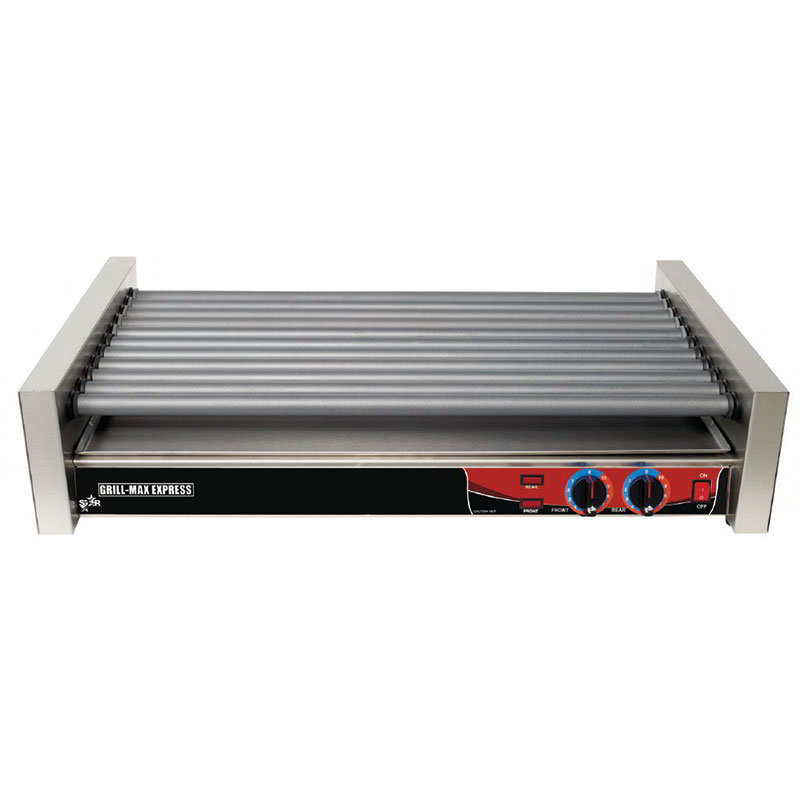 Star X50F 50 Hot Dog Roller Grill - Flat Top, 120v