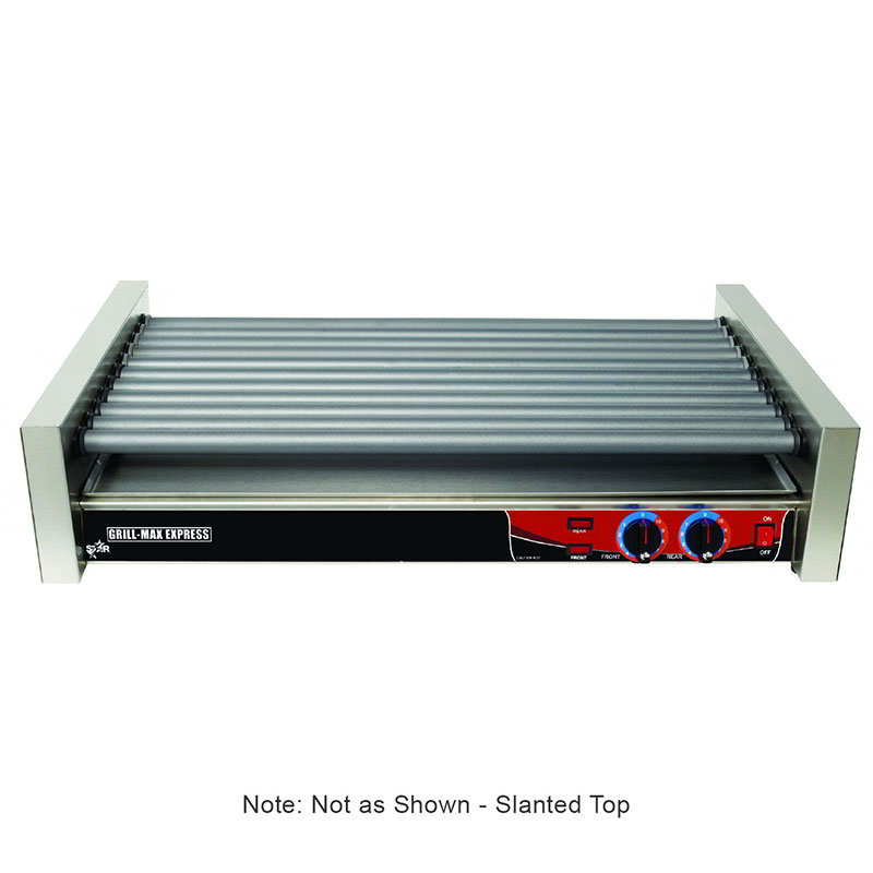 Star X50S 50 Hot Dog Roller Grill - Slanted Top, 120v