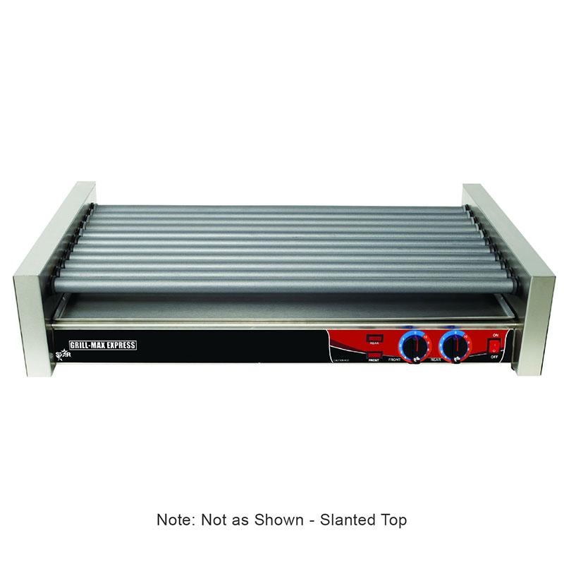 Star X50SG 50 Hot Dog Roller Grill - Slanted Top, 120v