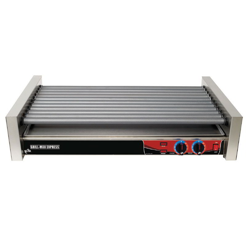 Star X50SGF 50 Hot Dog Roller Grill - Flat Top, 120v