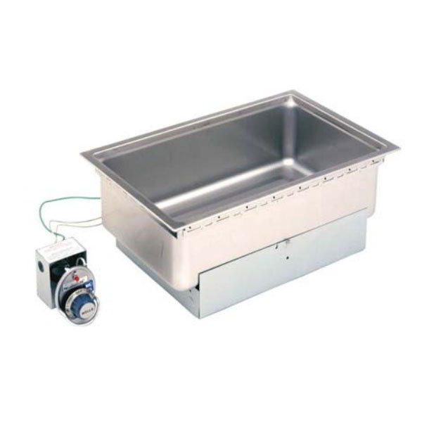 "Star SS-206TDU Built-In Food Warmer w/ Drain, 12"" x 20"" Pan Opening, Thermostatic, 120v"