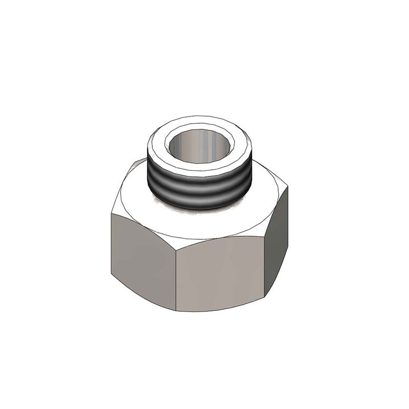 T&S Brass 058A Adapter, for Prerinse Spray Hose, 3/4 in IPS Female