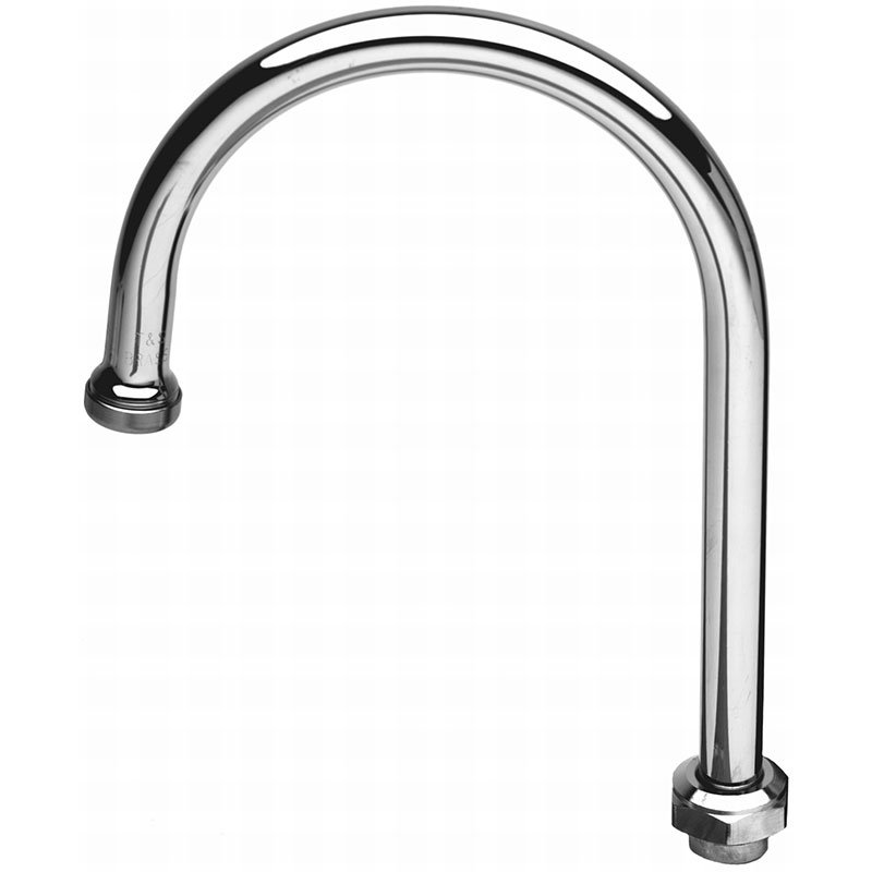 T&S Brass 133X Swivel Gooseneck, 4-3/4 in High, 2-3/4 in Spread