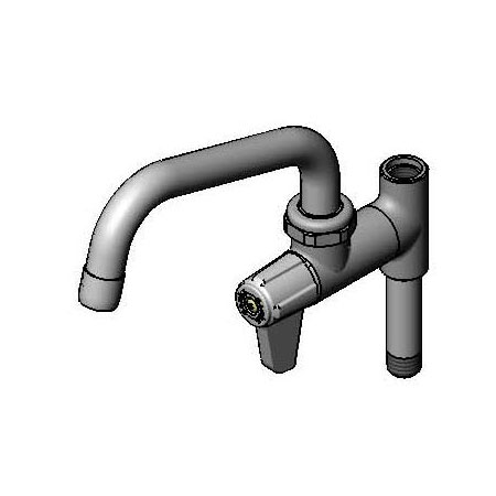 T&S Brass 5AFL06 Equip Faucet, 6 in Swivel Spout, Add On For Prerinse