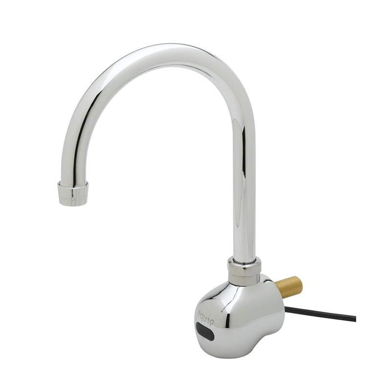 "T&S 5EF-1D-WG Sensor Faucet, Wall Mount, Single Hole, 6-3/8"" Spread Spout"