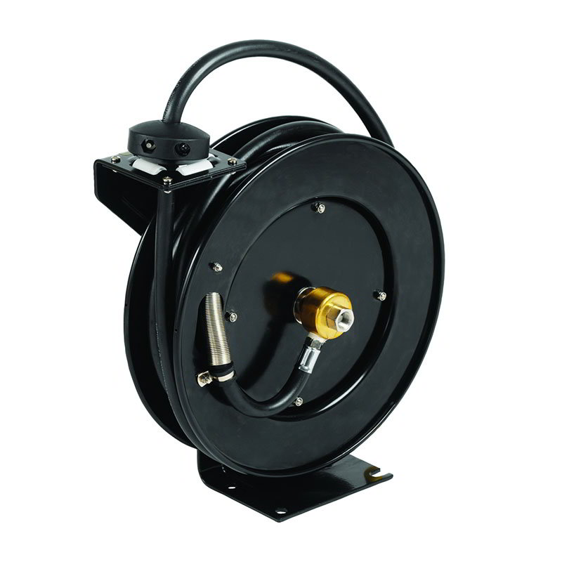 T&S Brass 5HR-232 Equip Open Hose Reel, 35 ft of 3/8 in Diameter, Powder Coated Steel