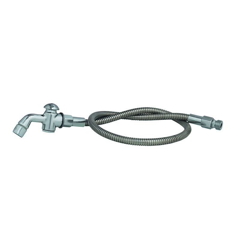 T&S B-0101-A Prerinse Spray, Aerator & Auto Shut off, 3 ft Flex SS Hose