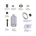 T&S Brass B-0107-C-RK Repair Kit, Spray Valve, Low Flow Spray Action