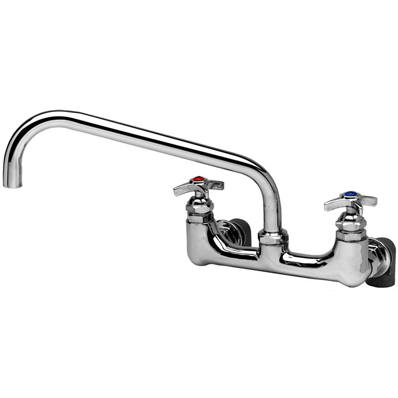 T&s Brass B-0290 Big Flo Kettle & Pot Sink Faucet w/ 12-in Swing Nozzle