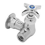 """T&S B-0310-LN Single Sink Faucet, 1/2"""" IPS Female, Wall Mount"""
