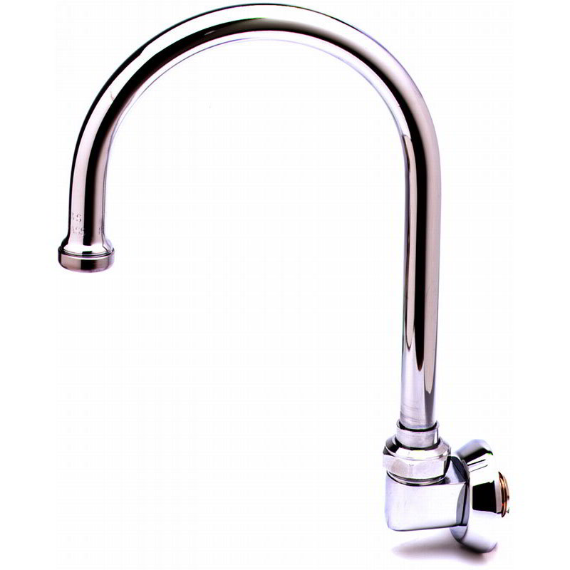 T&S Brass B-0525 Swivel Goose Neck Spout w/ 5-1/15-in Clearance