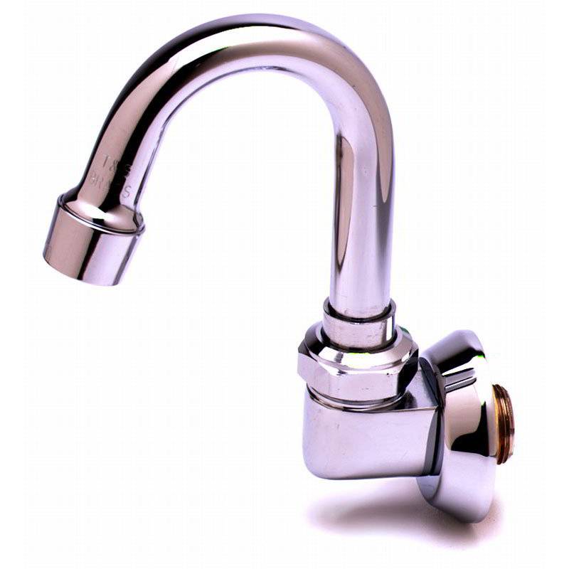 T&S Brass B-0529 Swivel Goose Neck Spout w/ 2-1/4-in Clearance