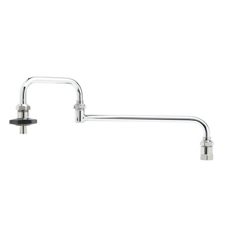 "T&S B-0584 Pot Filler Faucet, 24""Long, Double Joint"