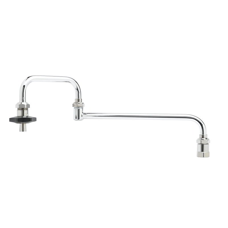 "T&S B-0585 Pot Filler Faucet, 18""Long, Double Joint"