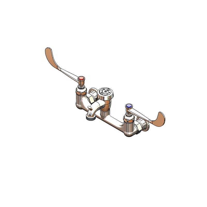 T&S B-0659 Service Sink Faucet w/ Vacuum Breaker Nozzle & Pail Hook