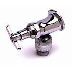 T&S Brass B-0736-POL Sill Faucet w/ 1/2-in Flanged Female Inlet & Vacuum Breaker