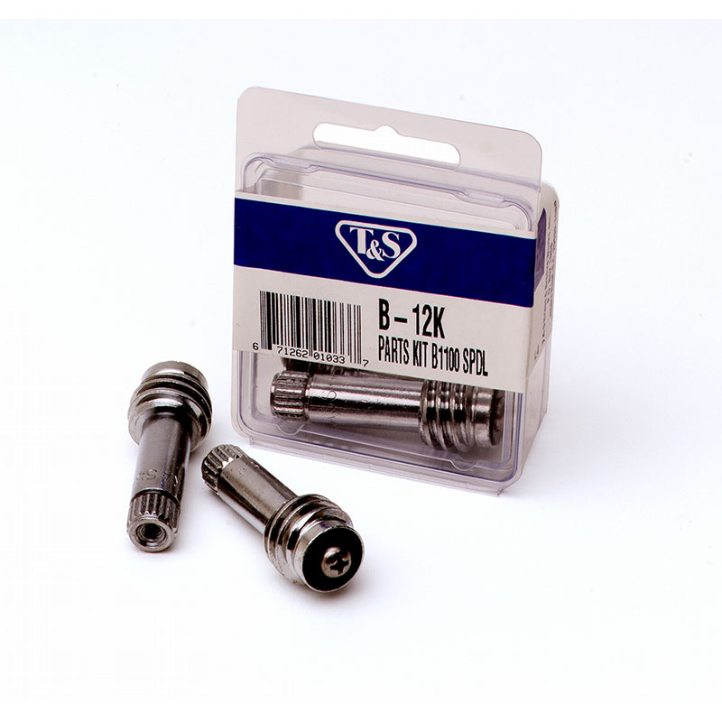 T&s Brass B-12K Spindle Kit, For Use With B-1100 Style Faucets