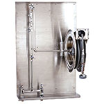 T&S Brass B-1436 Hose Reel Assembly, 35' Enclosed, Deck Mount Mixing Faucet