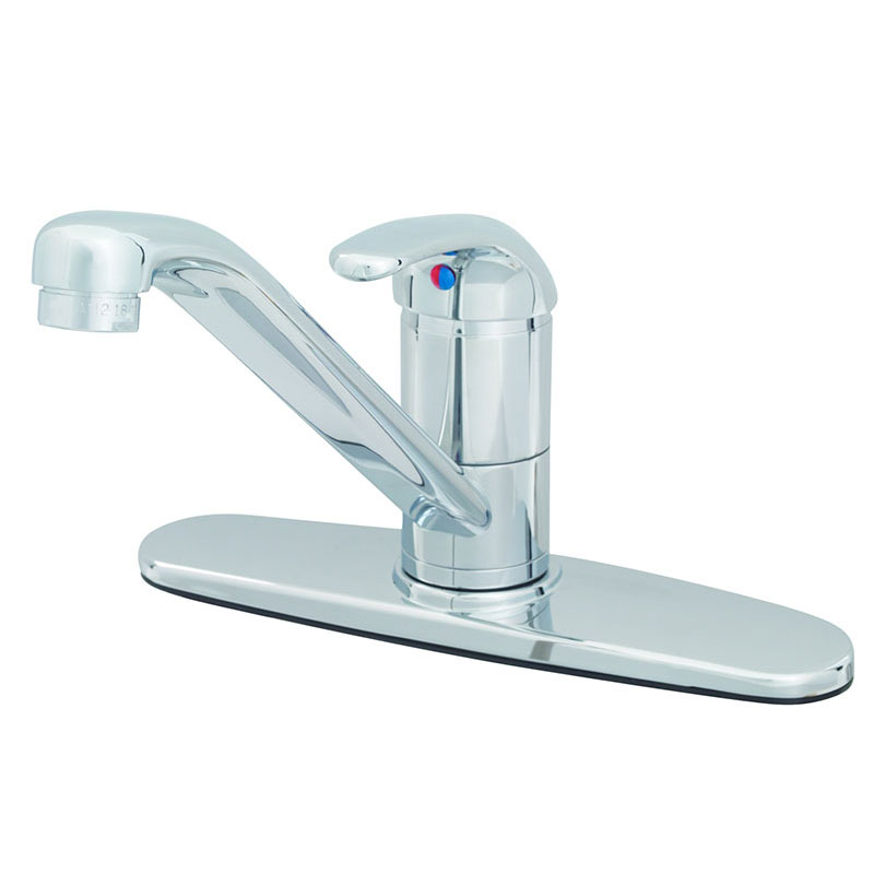 T&S Brass B-2731 Single Lever, Forged Brass Faucet, 9 in Spout