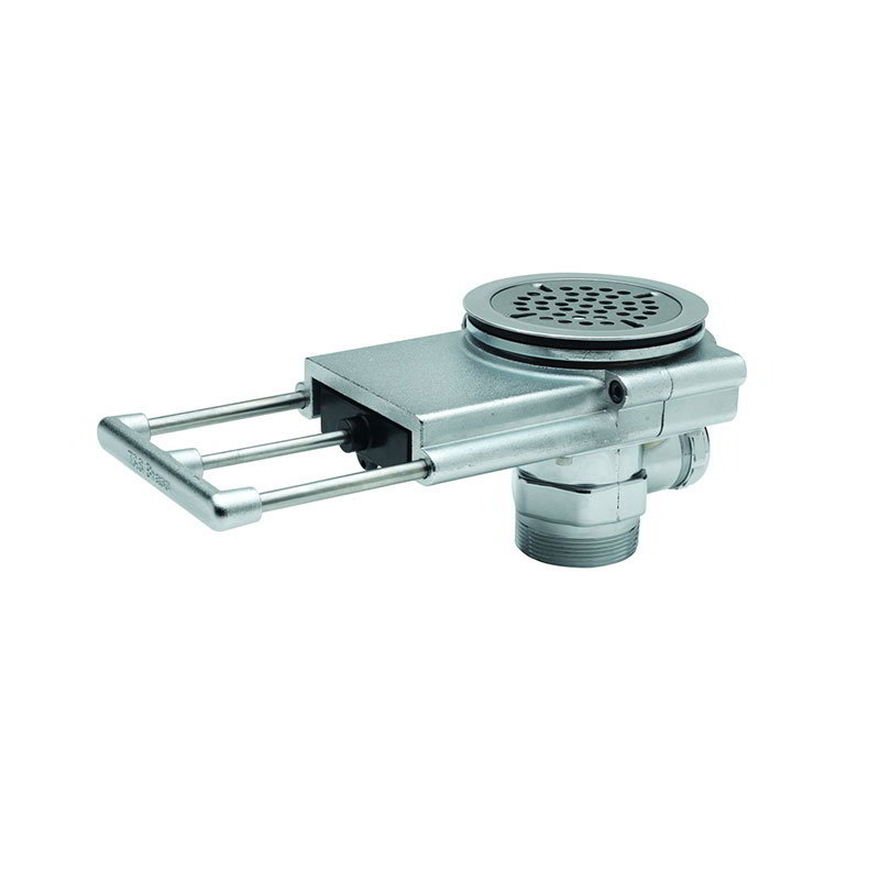 T&S Brass B-3990 Modular Waste Drain Valve w/ Pull Handle & 3.5-in Sink Opening