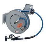 "T&S B-7232-01 Hose Reel, 35' Hose, Open, 3/8"" ID, Epoxy Coated Steel"