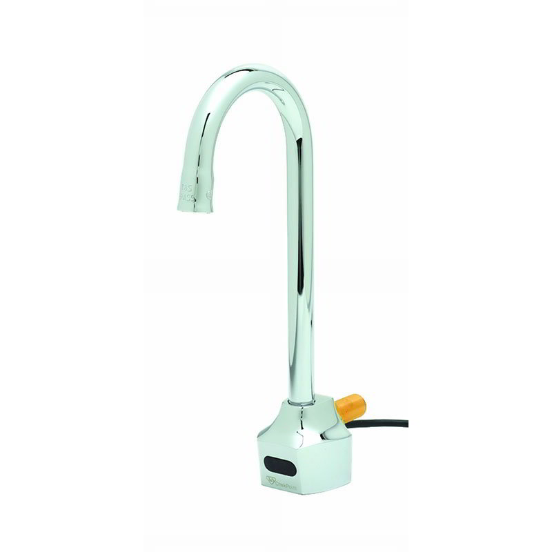 T&S EC-3101 Electronic Faucet, Wall Mount, Rigid Gooseneck
