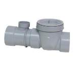Canplas 3934135AS Spigot Format Flow Control w/ Fittings, Cleanout & Air Intake, 35-GPM, 4""