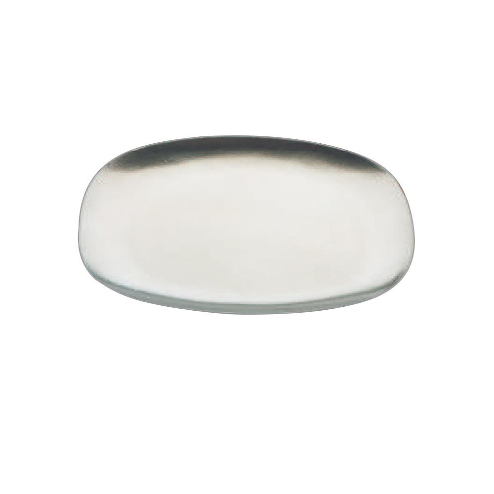 Tomlinson 1006380 Rectangular Dinner Platter, 8-3/8 x 12-1/4-in, Frosty Finish